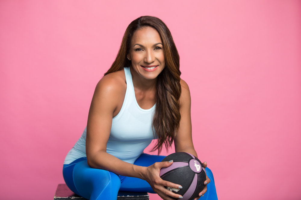 Heydi Lopez's advertising photoshoot