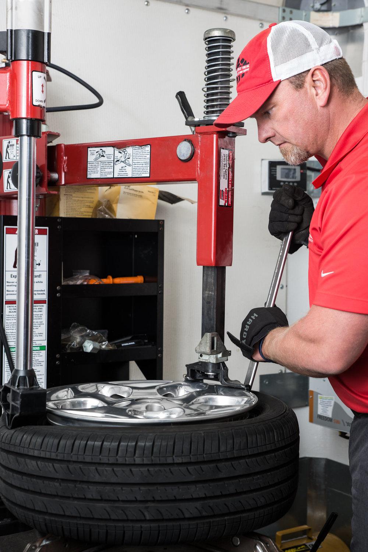 Larry burch rim tire