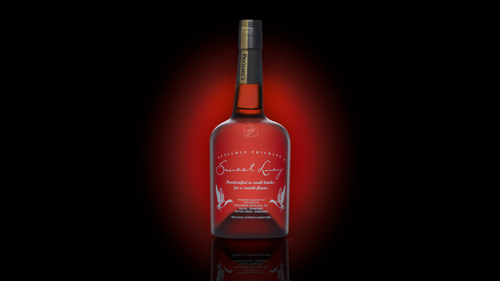 Nashville beverage photographers shot this image for Sweet Lucy