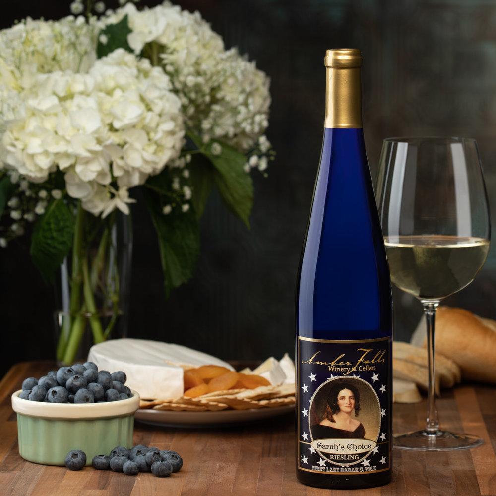 Nashville Product photography for Hampshire based Amber Falls Winery