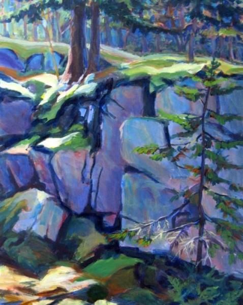 Ledges, Acadia