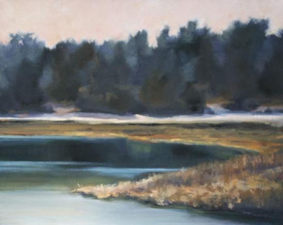 """Beach Music   20 x 30"""", oil on canvas"""