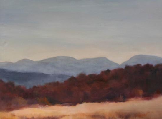 """Plum   20 x 30"""", oil on canvas"""