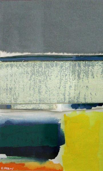 "Waterhole #16   64 x 48"" acrylic on canvas"