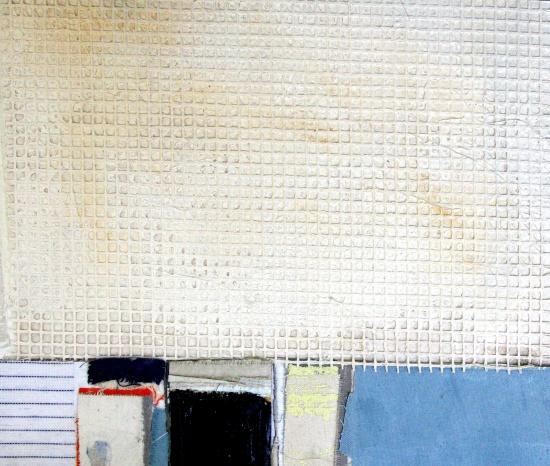 "Waterhole #13  66 x 50""  acrylic on canvas"