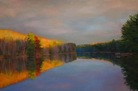 Dawn Light   14 x 20,  oil on canvas