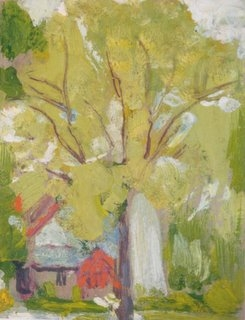 James Britton, St. Mary's South Manchester, 1930 7 1:2 x 5 1:4, oil on board.jpg