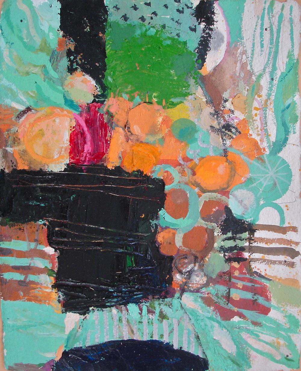 Carafe, 12 x 14, vinyl color on paper