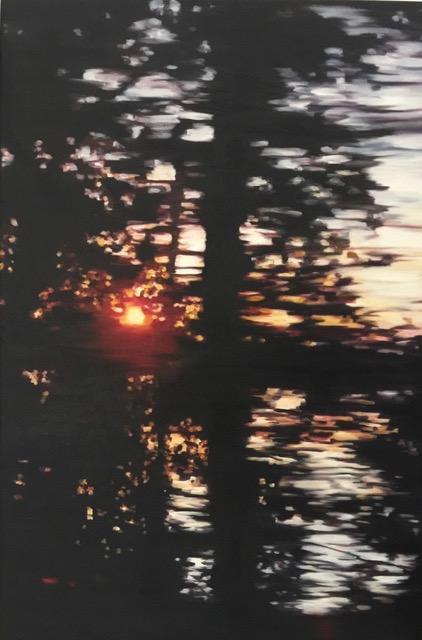 Woodloch Dream series: 24 x 36 oil on canvas