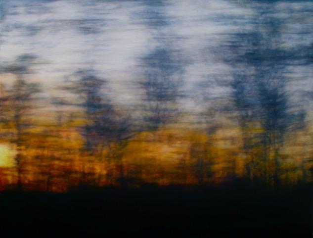 Woodloch Dreams, oil on canvas