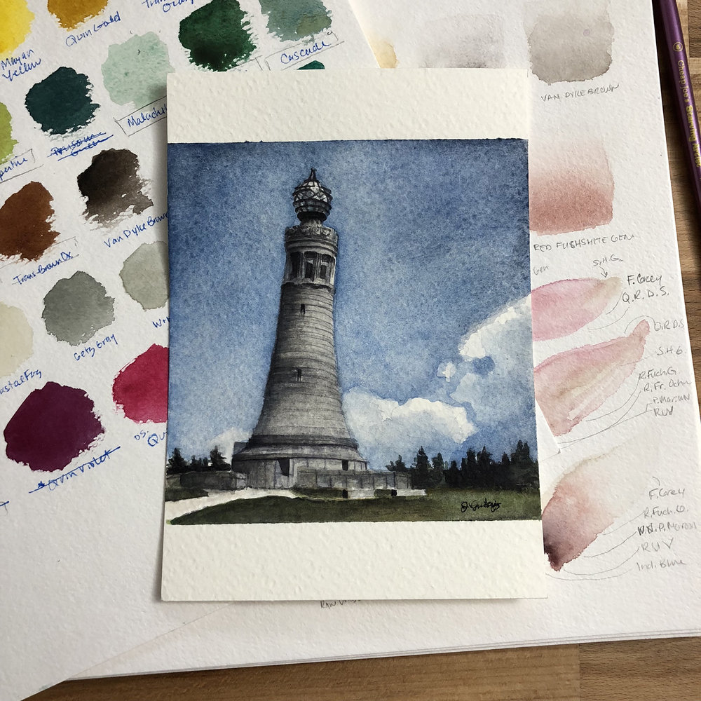 Mount Greylock Monument Up Close