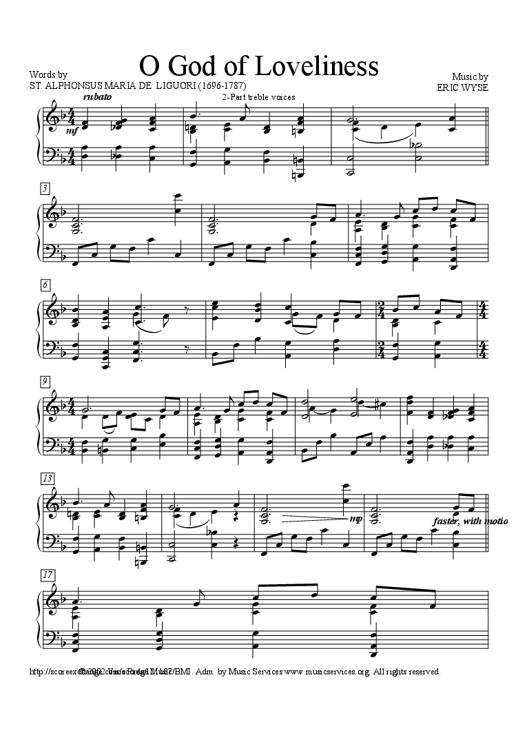 Classic Funeral Hymn: