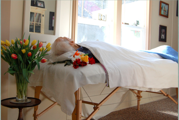 Funeral in a Residence