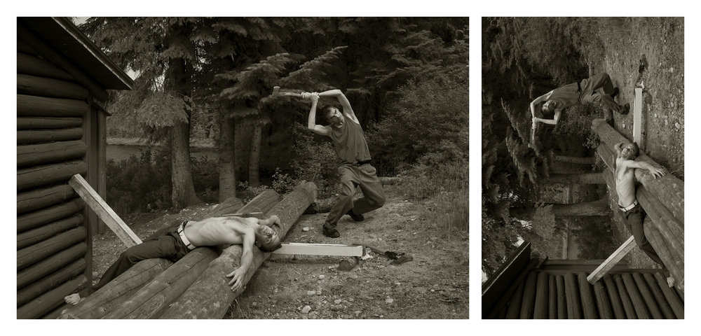 De la série  Le rituel hors champ /  Du sacrifice , 2015