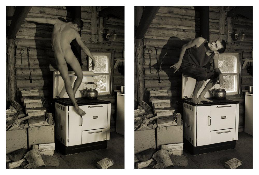 De la série  Le rituel hors champ  /  Déception du voyeurisme , 2015