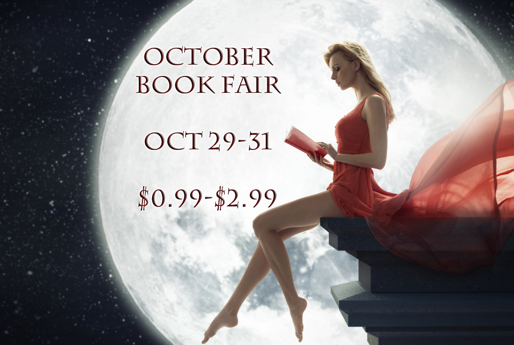 OCTOBER BOOK FAIR!!  I've got a 2.99 book THE MAVERICK'S RED HOT REUNION in this amazing book fair along with LOTS of other fantastic authors. You can get great deals from until after the Witching Hour on October 31st!! Join in the fun and get your .99-2.99 deal today!    Get Your Deal TODAY!!
