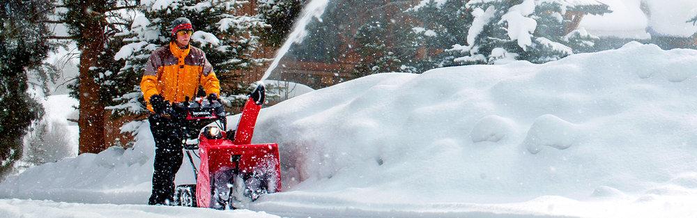 HONDA SNOWBLOWERS