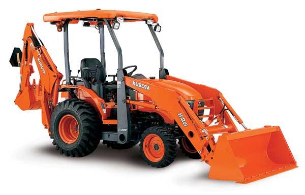 Tractor Loader Backoe