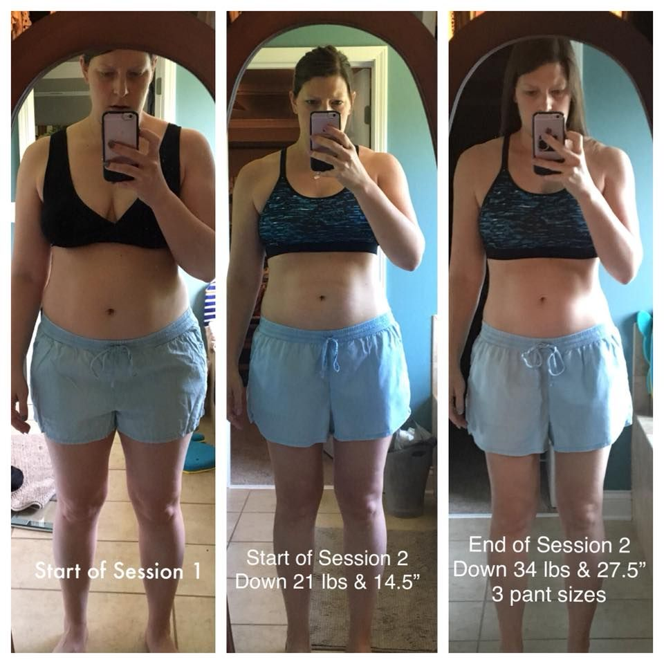 """After session 2, I am down a total of 34 pounds and 27.5"". Thank you Amanda this program has really changed my life!"""