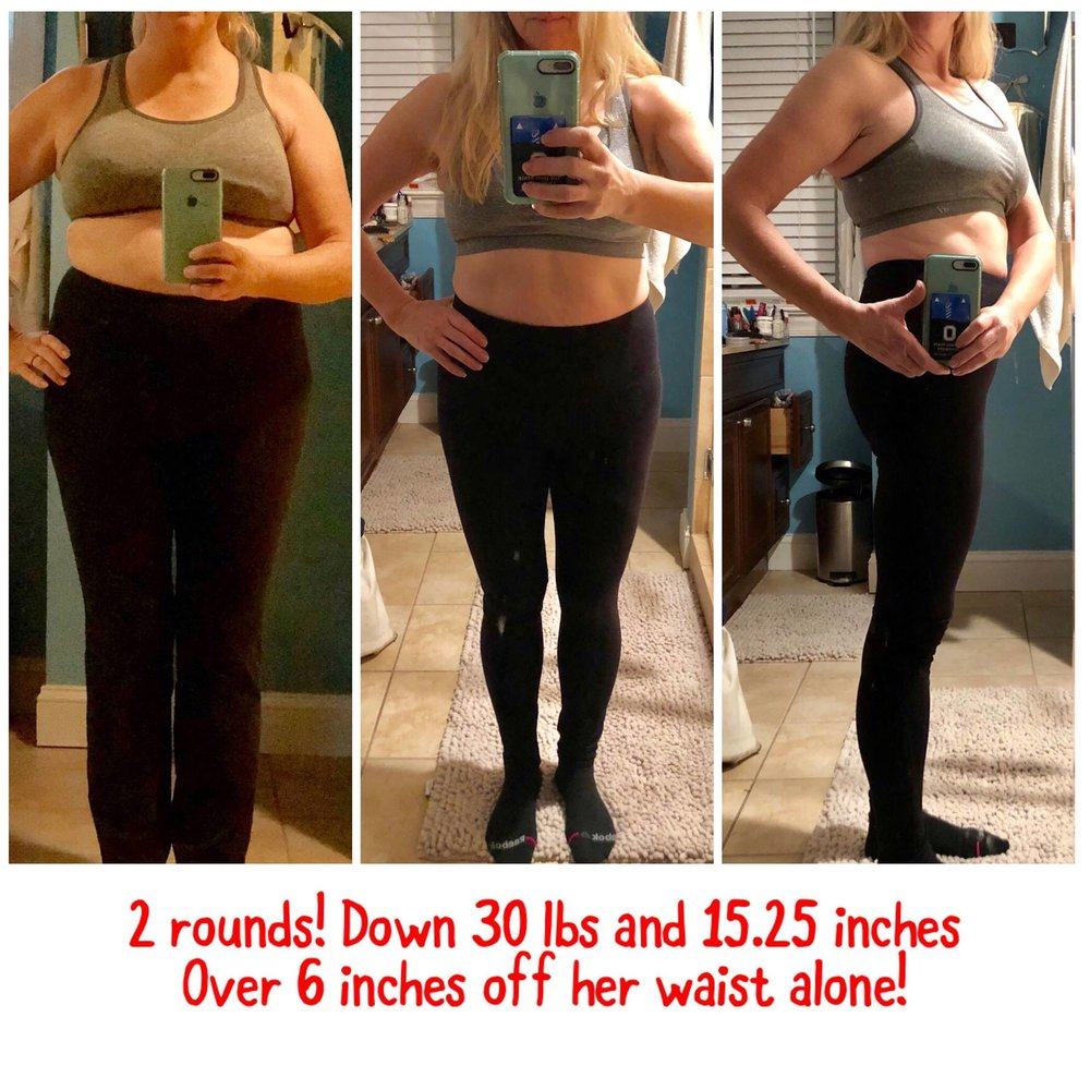 """Before starting this program I felt horrible all the time, not sleeping well & just irritable. I have PCOS and have always struggled with my weight! This program has taught me how to eat nutritionally but also I don't feel as if I have depriving myself of anything. It is a very easy plan to follow and doesn't require extra supplements, etc. I have not only lost weight but have confidence in the way I feel about myself. I have lots of energy and sleep well every night. I love this program because it is something that you can follow for the rest of your life. It is definitely a game changer!"""