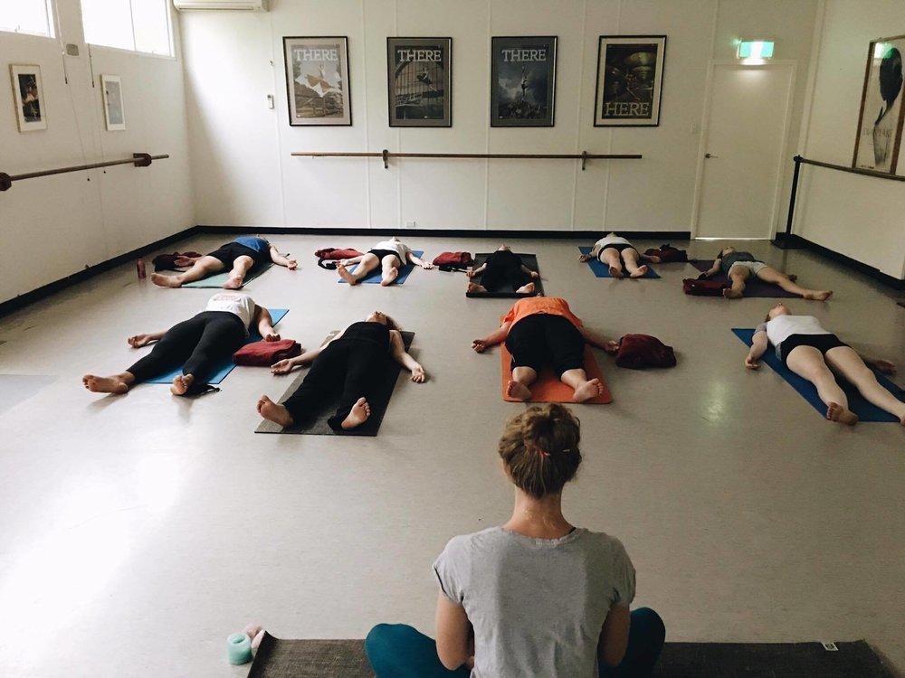 Meditation at Torrens Community Yoga