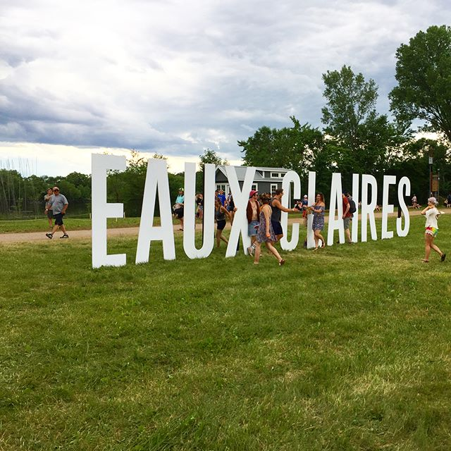 Thanks for inviting me to Eaux Claires Fest @ohslam! It was ✨magical✨. Soooo, next year? 😊