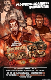 July 7, 2018 Tag Wars! - IPW World Heavyweight Champion Franco Varga defends against Big Mike Elgin! This match had the internet buzzing!