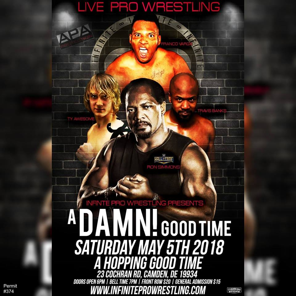 May 5, 2018 A Damn! Good Time! - Featuring Ron Simmons! You have to see the ending to this one!