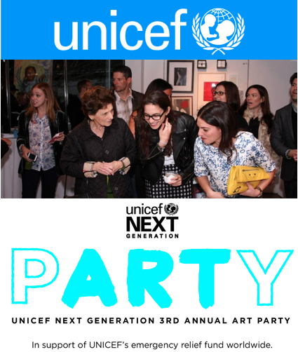 UNICEF Next Generation Art Party: Los Angeles, CA - #NextGenArtParty