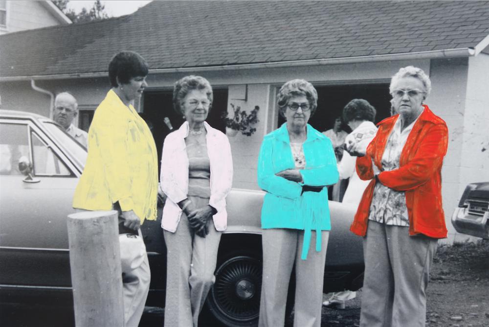 Bonnie Shadduck Holcomb Reunion, 1976
