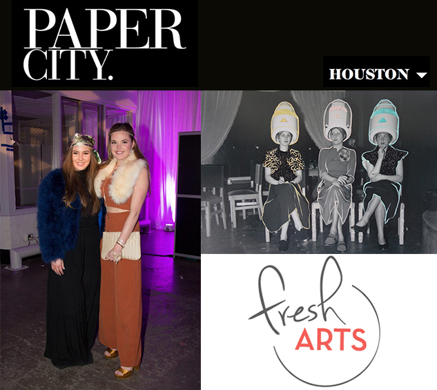 Paper City: Houston's Biggest Art Power Players Go Costume Crazy - The Crystal Ball Gala Benefitting Fresh Arts