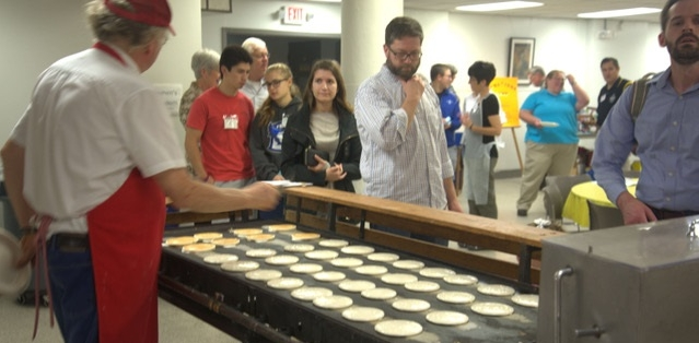 pancake breakfast with the pancake man fall 2017