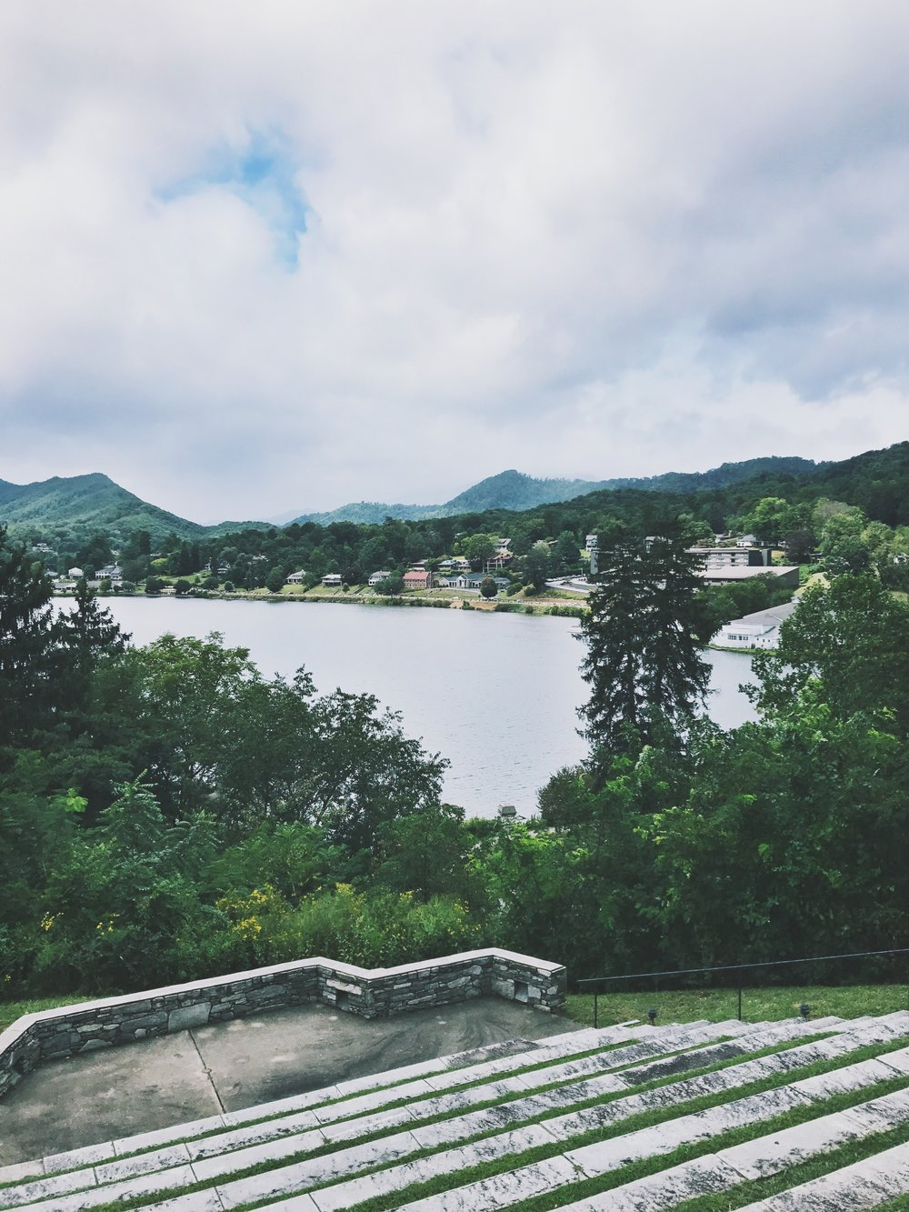 Lake Junaluska, where our marriage conference was