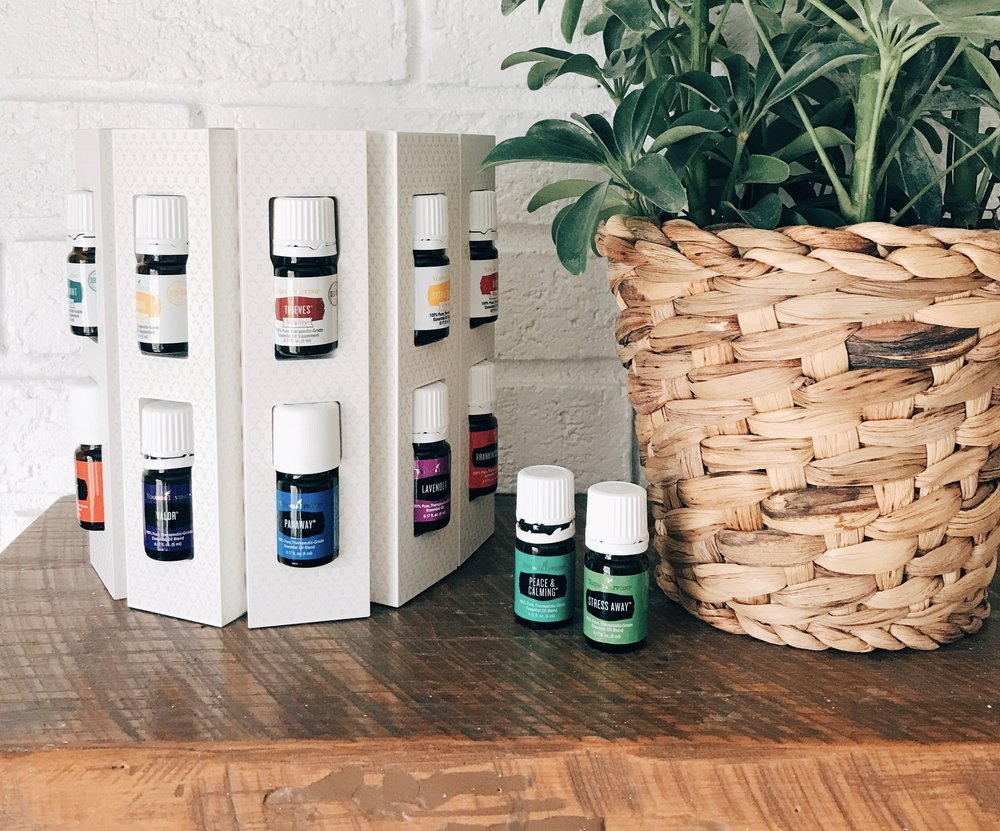 There are two new oils in the 2019 Young Living Premium Starter Kit, Peace & Calming and Valor! And 12 oil's total!