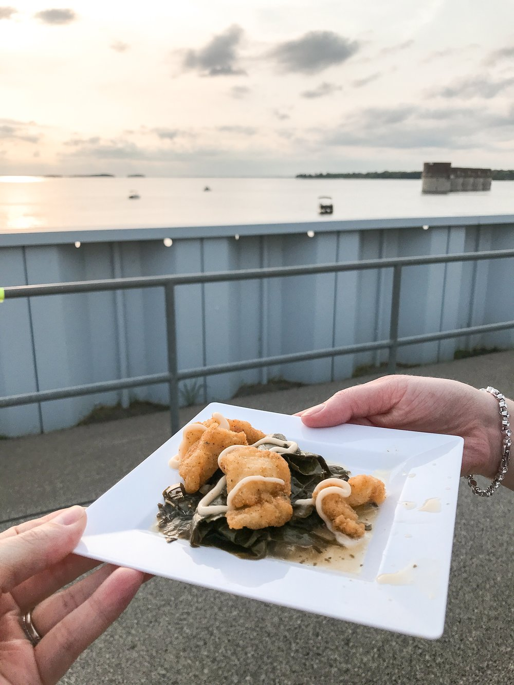 I mean, can ya get a better view with some fried catfish and collards?