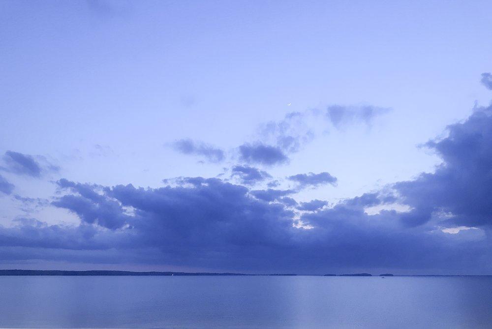 Lake Murray night sky