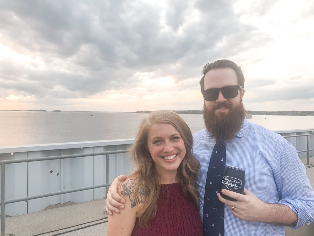 We had such a great time at Dining on the Dam