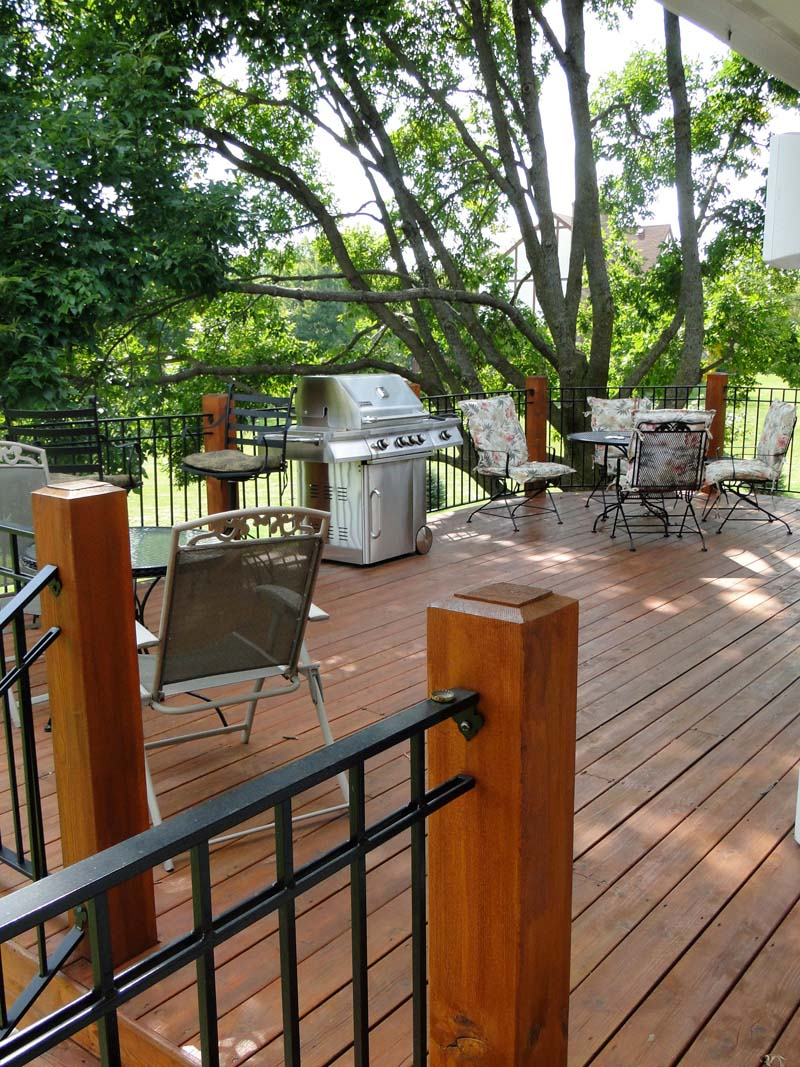 The Deck Or Patio Is The Pride Of The Exterior Of Many Homes. The Deck Or  Patio Is The Place Where The Family Will Spend Countless Spring And Summer  Nights ...