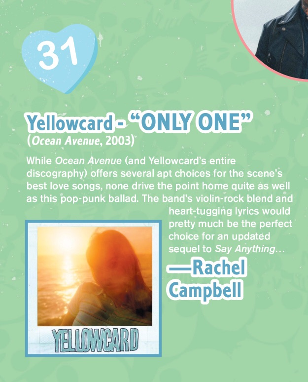 #344 The 50 Best Love Songs: Yellowcard