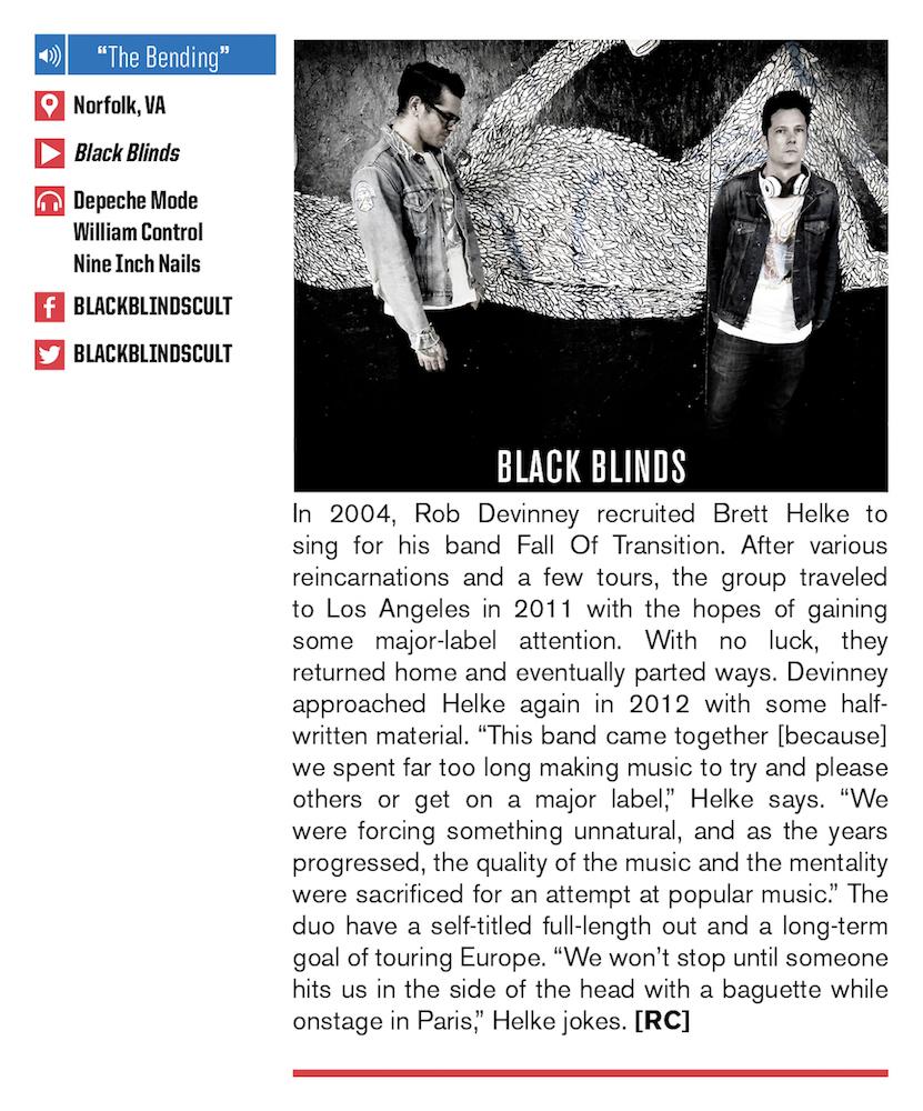 #301 AP&R: Black Blinds