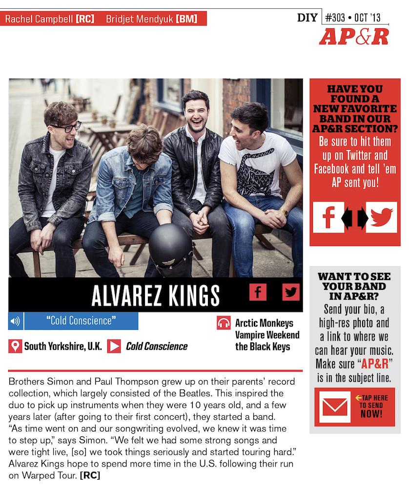 #303 AP&R: Alvarez Kings