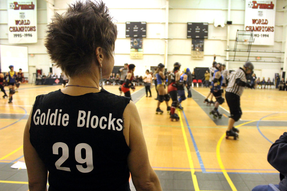 Burning River Roller Girls - Goldie Blocks