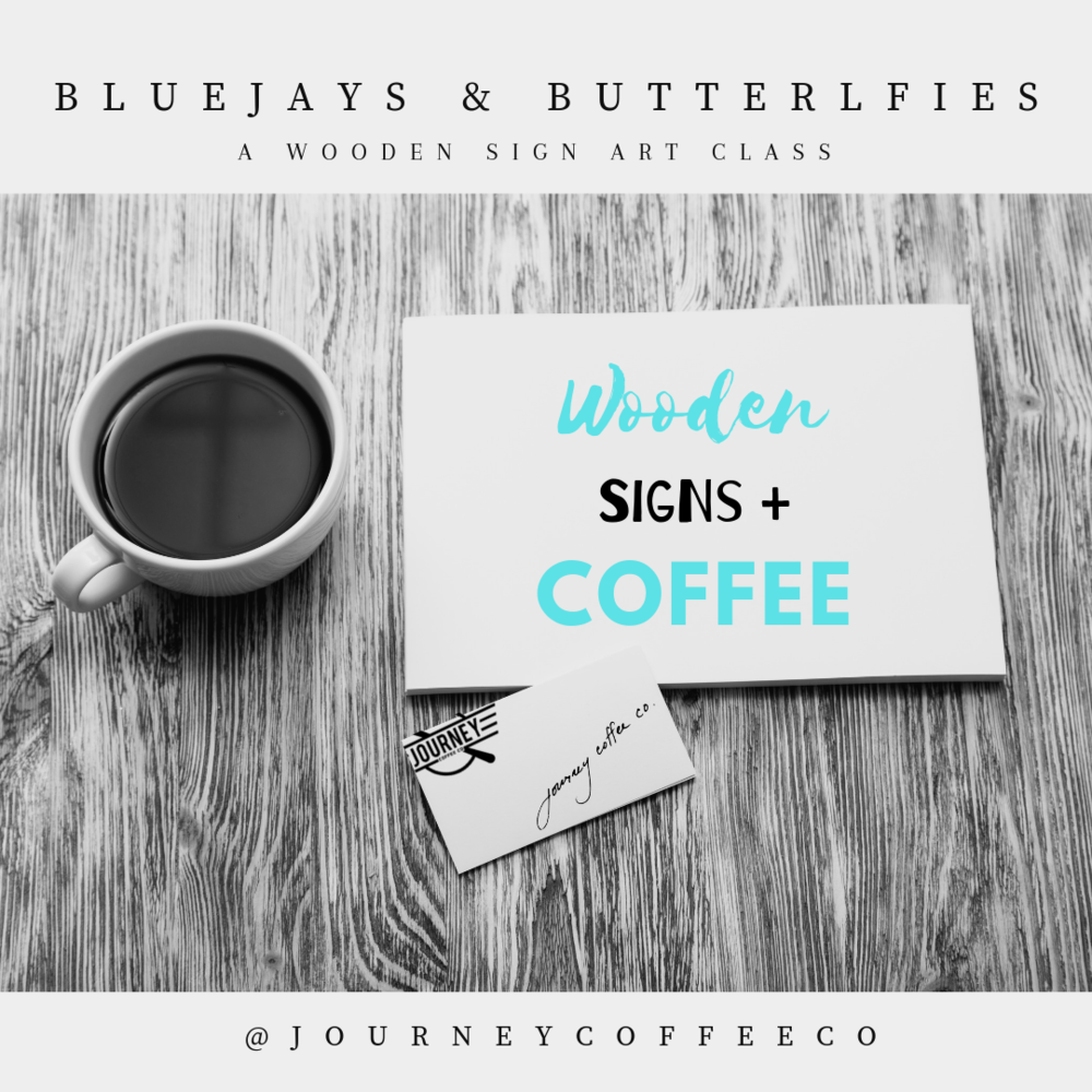 Bluejays & Butterflies