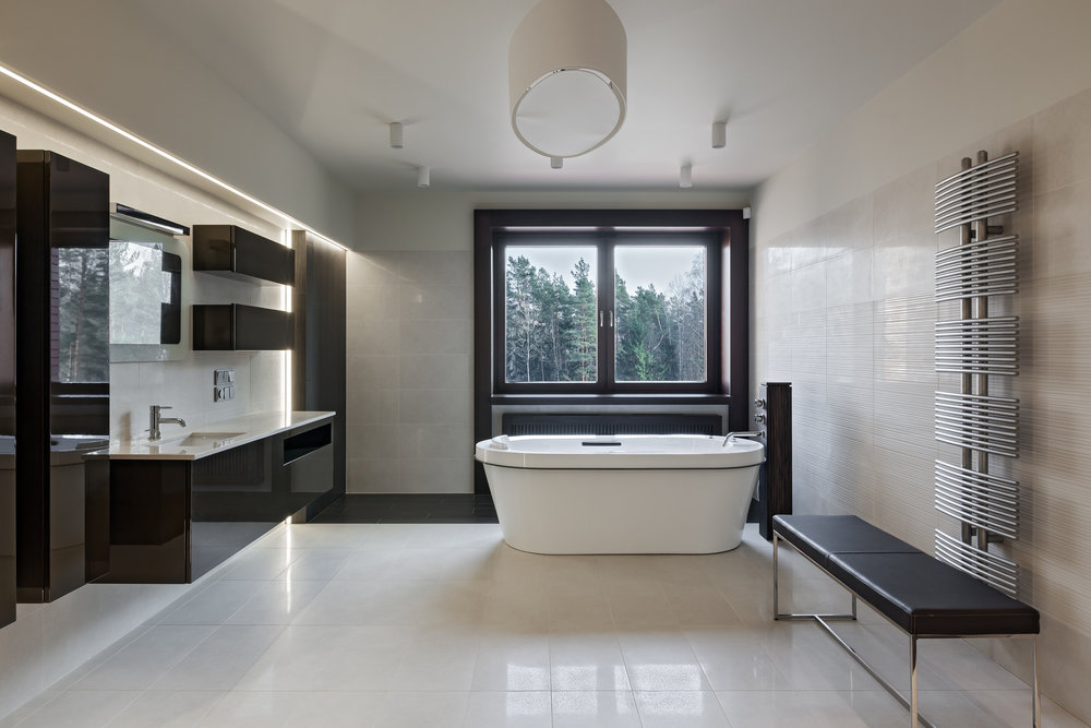 Sleek Modern Designer Bath