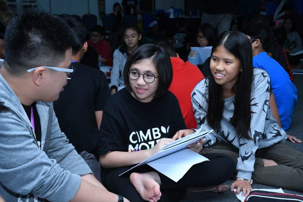 Communication Skills - Form 2 IDers develop effective communication skills as they co-facilitate Form 1 programmes.