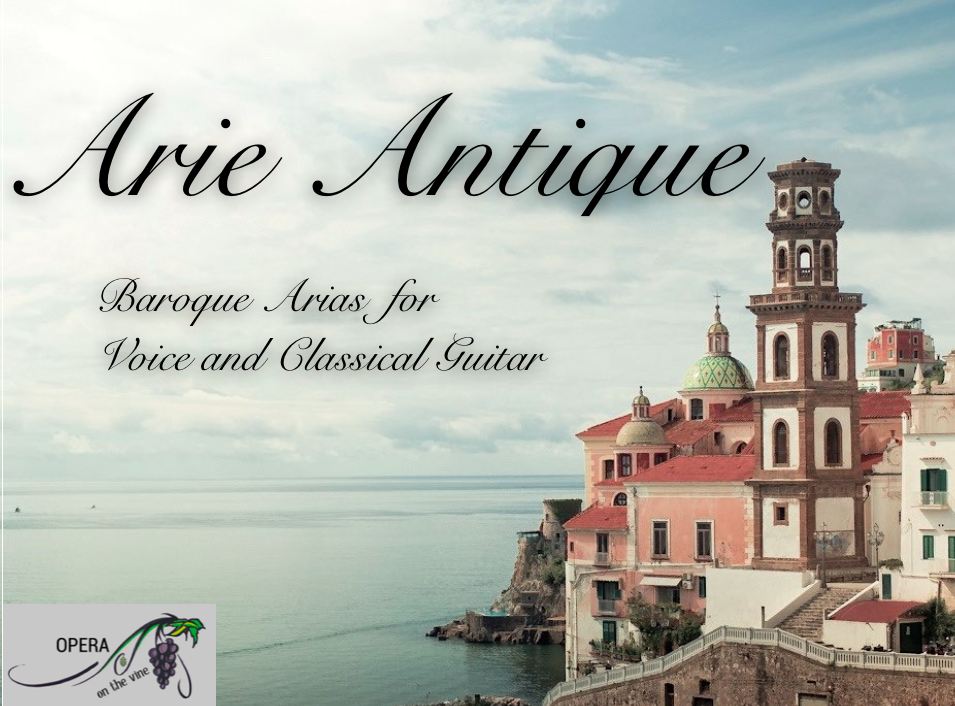 Arie Antique for voice and classical guitar