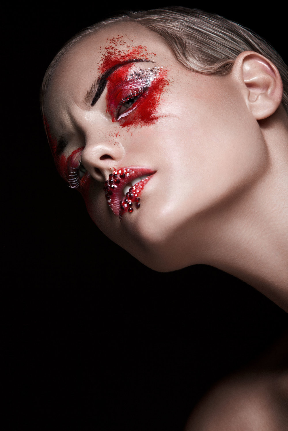 Beauty Makeup for Breed Magazine