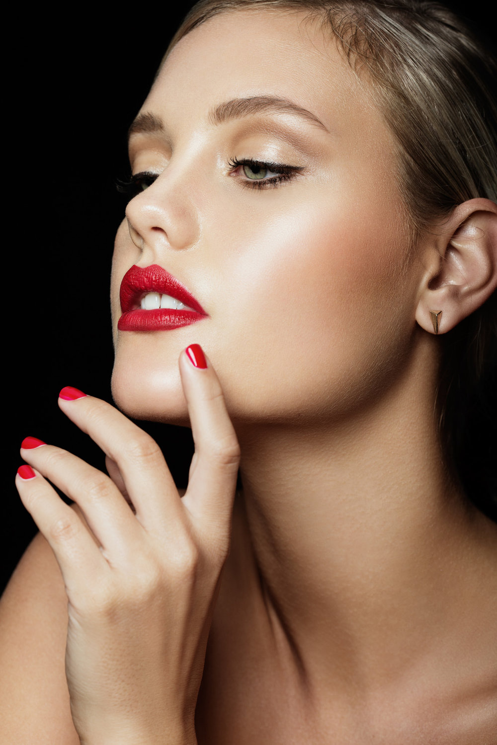 Beauty Makeup for lipstick campaign