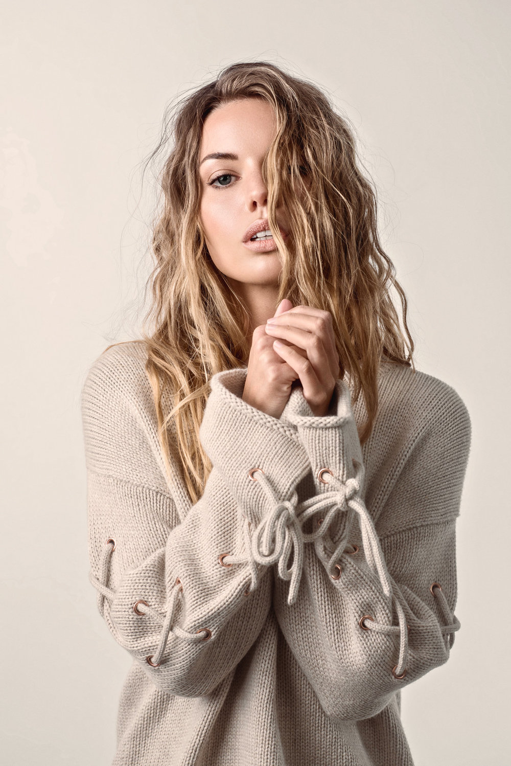 See By Chloé, Oversized Knit (Birch), $699;