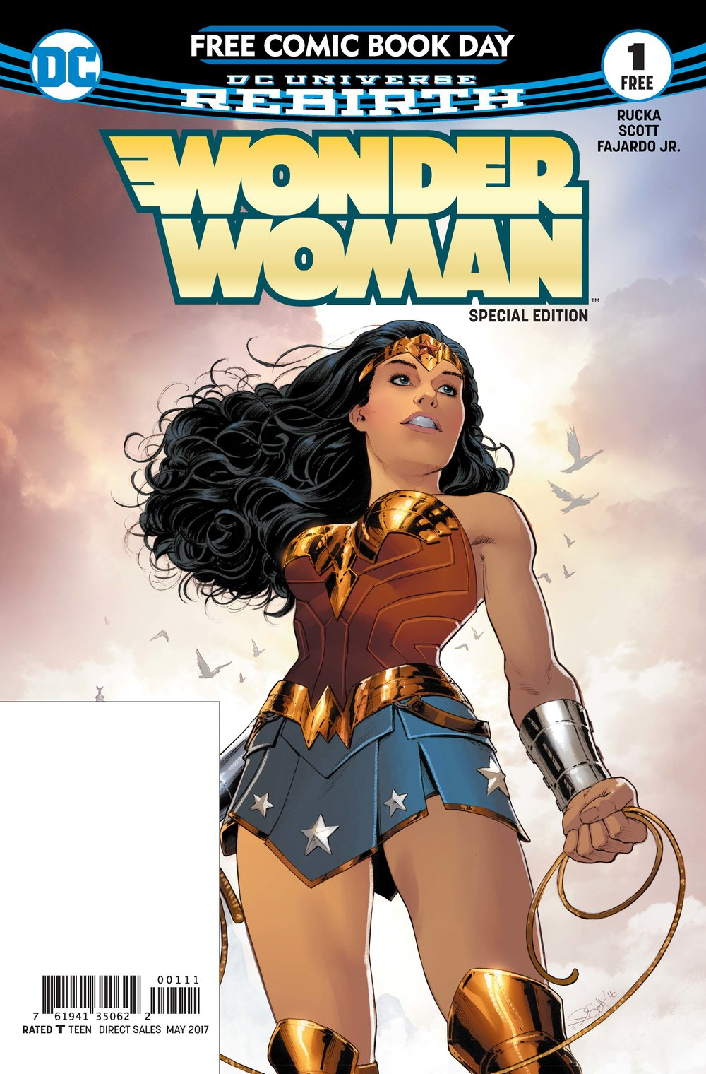 WONDER WOMAN FCBD SPECIAL EDITION #1